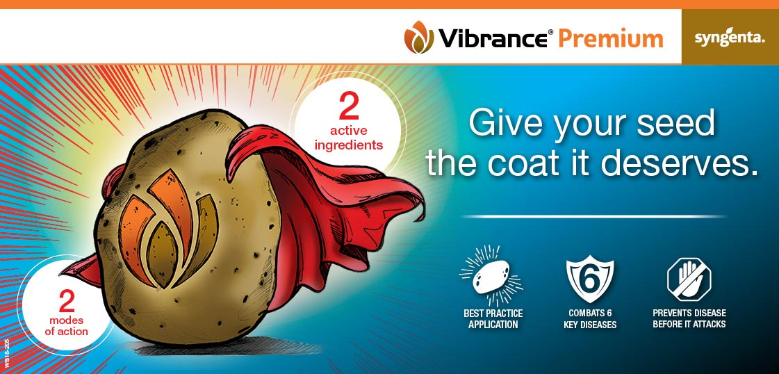 Vibrance Premium give your seed the coat it deserves