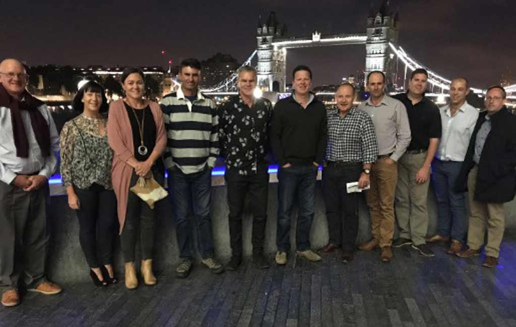 Syngenta and the 2017 Growth Awards winners in London.