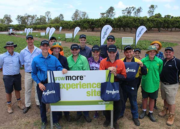 Syngenta Australia hosts Home Hill State High School at the GrowMore Experience, Ayr.
