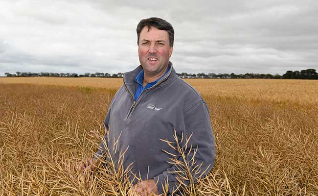 Cam Comboy, Ghorst Rural, found SALTRO® DUO effectively controlled blackleg at Lake Bolac.
