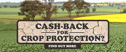 AgriClime cash-back for crop protection