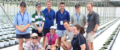The Australian & New Zealand students on the 2017 Connections Program.