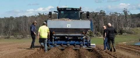 Amistar in-furrow potato planting.
