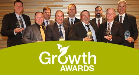 Growth Awards 2014 winners