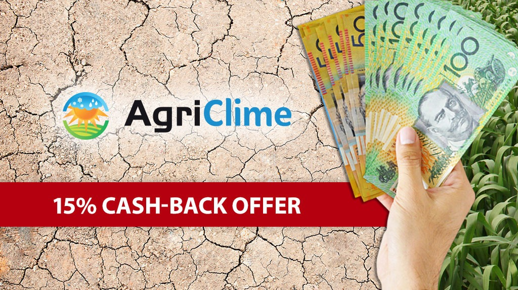 AgriClime Cash-Back Offer