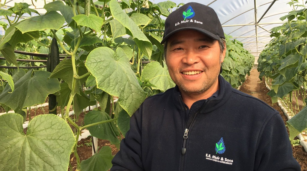 Vegetable grower, Tommy Le, won a spot on the Growth Awards 2017 study tour abroad.