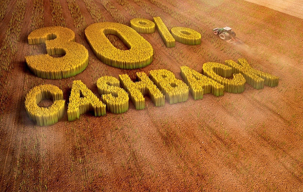AgriClime 30% Cash-back