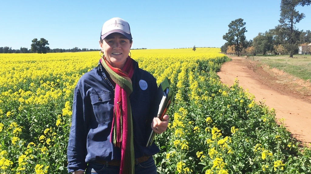 Agronomist Kirrily Condon was awarded a 2017 Syngenta Growth Awards for her dedication to sustainable and productive farming systems.