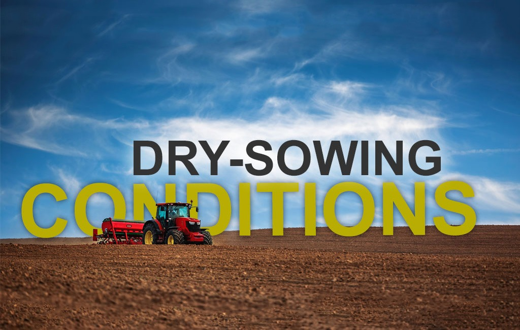 Tractor Sowing Dirt